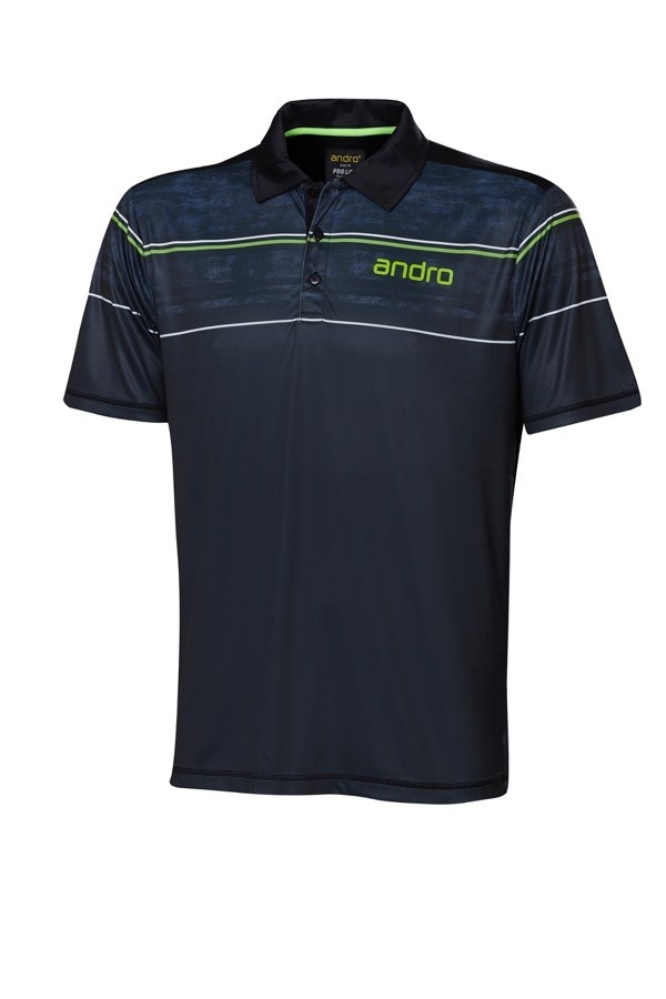 Andro - T-Shirt CARTER Black - Green - Men's