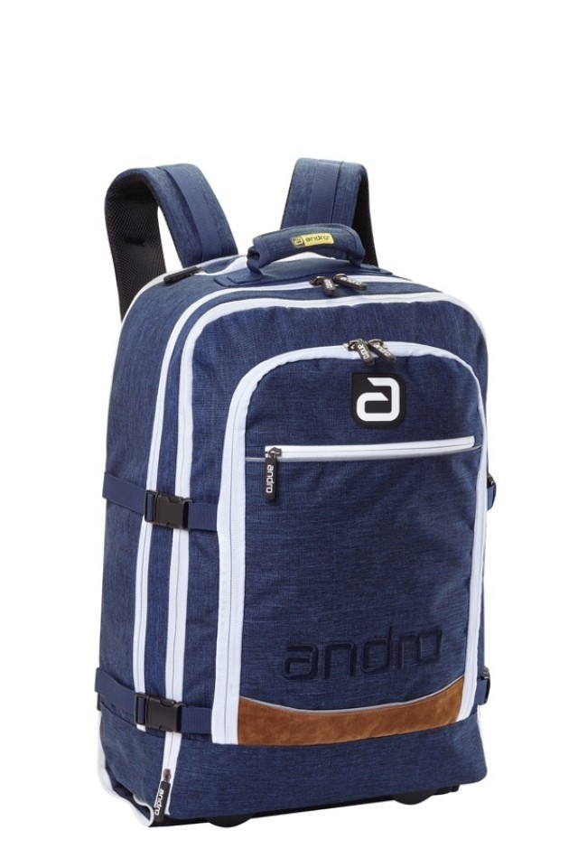 ANDRO Trolley / Backpack Salta Blue / White