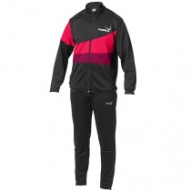 Yasaka Tracksuit POLLUX -  Black / Dark Red / Red - Men's