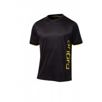 Andro - T- Shirt PARKER  Black / Yellow - Men's