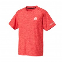 Andro - T- Shirt MELANGE ALPHA  Fire Red - Men's