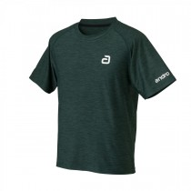 Andro - T- Shirt MELANGE ALPHA  Dark Green - Men's