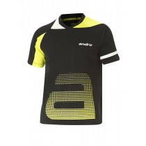 Andro - T-Shirt YARI Black / Yellow - Men's