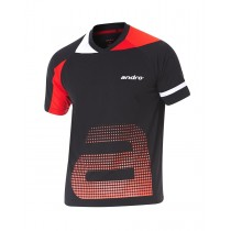 Andro - T-Shirt YARI Black / Red - Men's