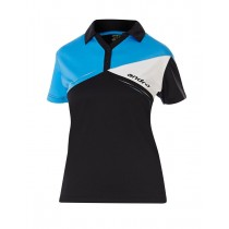 Andro - Shirt CONOR Black-Blue-White - Women's