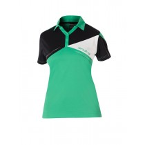 Andro - Shirt CONOR Black-Green-White - Women's
