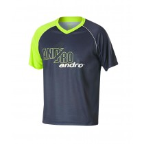Andro - Shirt BRADY Grey / Neon Yellow - Men's