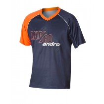 Andro - Shirt BRADY Grey / Neon Orange - Men's