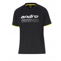 Andro - T-Shirt  MERU Black / Yellow - Men's