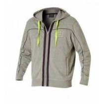 Andro - Sweatjacket OWEN Light Grey / Neon  - Men's